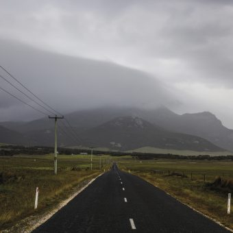 Road on Flinders Island
